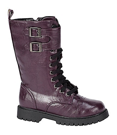 Volatile Girls Sikita Military-Inspired Boots