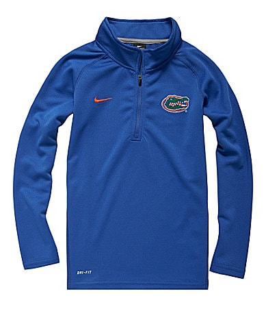 Nike 8-20 Florida Gators Quarter-Zip Elite Mock Jacket