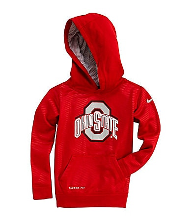 Nike 4-7 Ohio State Therma-FIT Pullover Hoodie