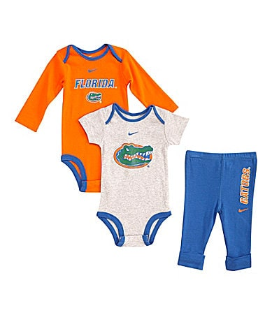 Nike Newborn Florida Gators Creeper Pants Set