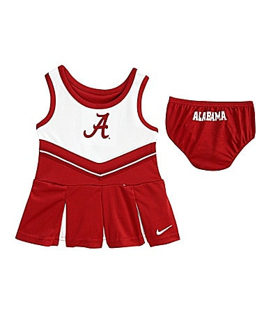 Nike Infant Alabama Crimson Tide Cheerleader Dress Set