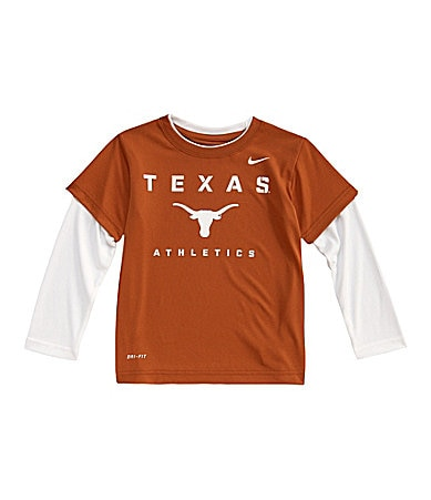 Nike 4-7 2-Fer Texas Longhorns Dri-Fit Tee