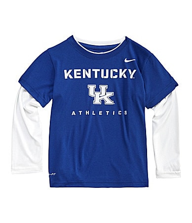 Nike 4-7 2-Fer Kentucky Wildcats Dri-Fit Tee