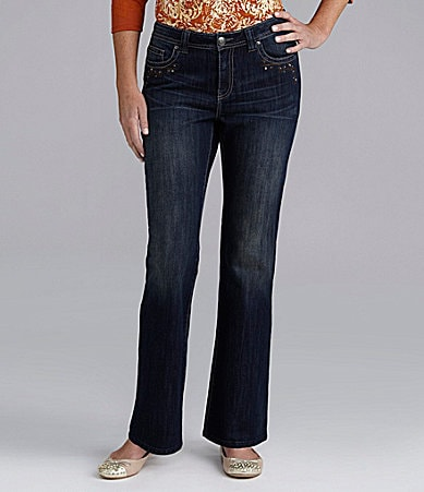 Reba Embroidered Savanna Bootcut Jeans