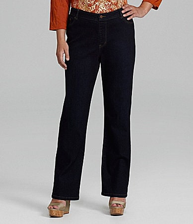 Reba Woman Straight-Leg Stretch Jeans
