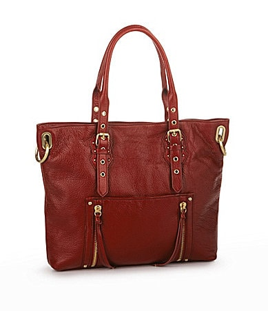 Steven by Steve Madden Leather Lift-Off Tote Bag