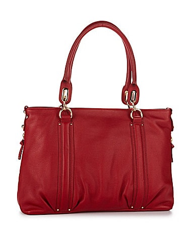 Steven by Steve Madden Leather Metro Tote Bag
