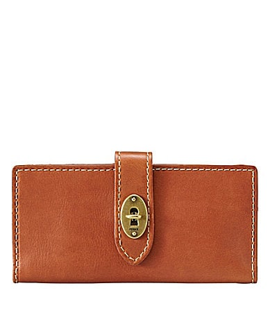 Fossil Austin Checkbook Clutch Wallet
