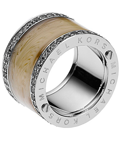 Michael Kors Horn Barrel Ring