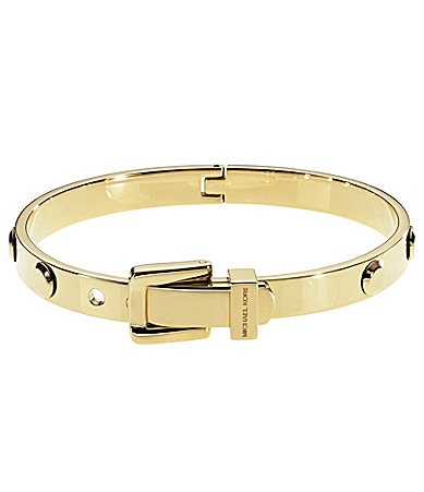 Michael Kors Astor Metal Buckle Bangle Bracelet