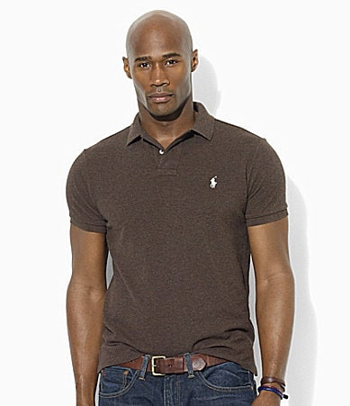 Polo Ralph Lauren Big & Tall Classic-Fit Short-Sleeved Cotton Mesh Polo