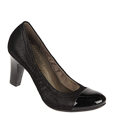 Naturalizer N5 Contour Grace Cap-Toe Pumps