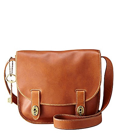 Fossil Austin Large Flap Cross-Body Bag