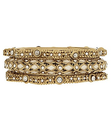 Natasha Jewels Of The Nile Bangle Bracelet Set