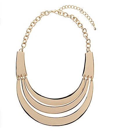 Natasha Jewels Of The Nile Trio Collar Necklace