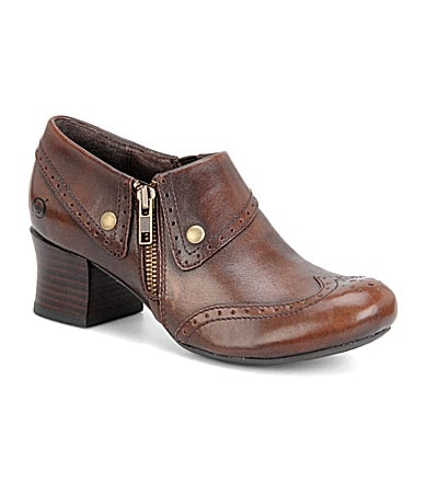 Born Sia Wingtip Booties