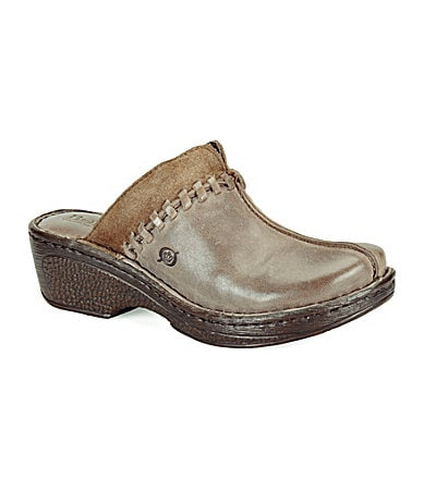 Born Ellendale Leather Clogs