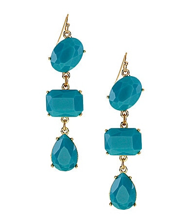 Roberta Chiarella Stone Drop Earrings