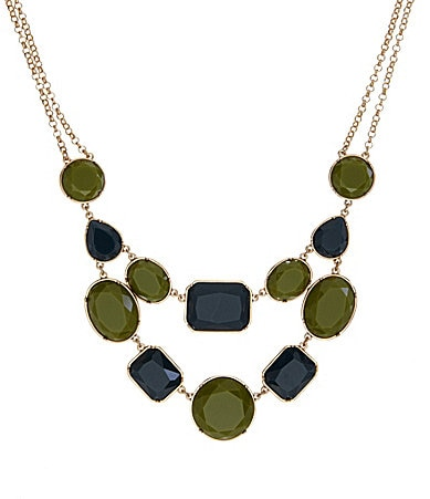 Anna & Ava Cleopatra Stone Frontal Necklace