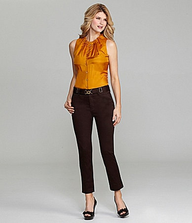Antonio Melani Lorena Sleeveless Silk Blouse & Nelly Ankle Pants