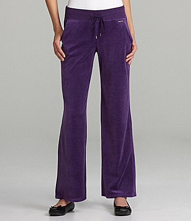 MICHAEL Michael Kors Velour Pull-On Pants