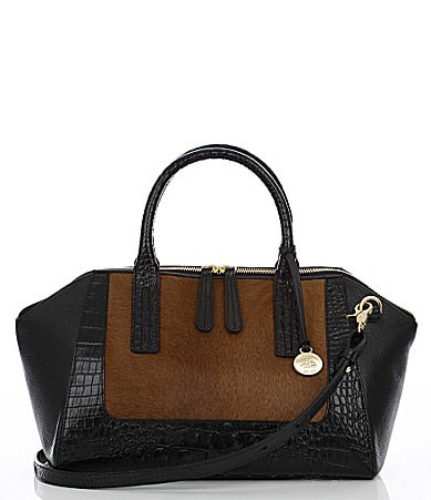 Brahmin Kensington Collection Morgan Satchel