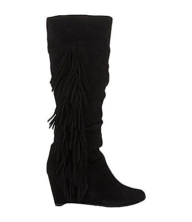 Gianni Bini Rey Wedge Boots