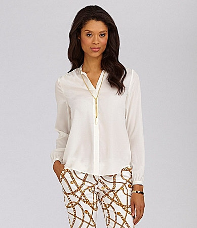 MICHAEL Michael Kors Chain-Detail Blouse