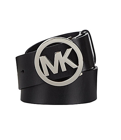 Michael Kors Logo Plaque Belt
