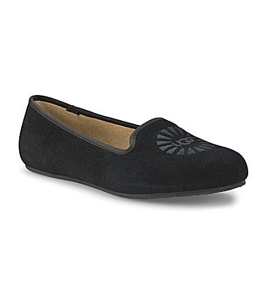UGG Australia Alloway Suede Slippers