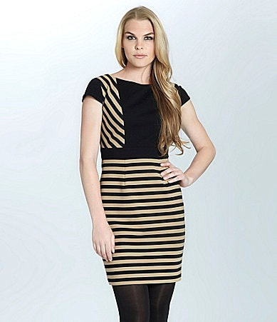 Cynthia Steffe Ramona Stripe Dress