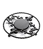 Artimino Fleur-de-Lis Cast Iron Trivet