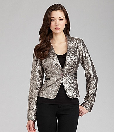 MM Couture by Miss Me Sequin Jacket