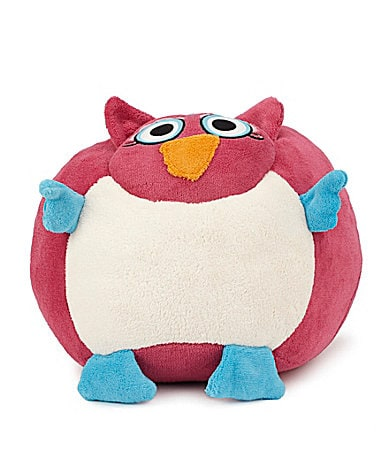 Berkshire Blanket  Pink Owl Cuddle Buddy Pillow