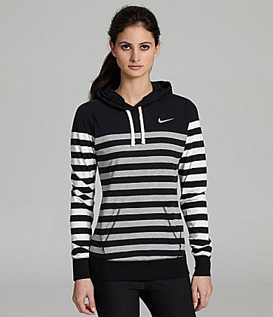 Nike Lifestyle Stripe Jersey Workout Top