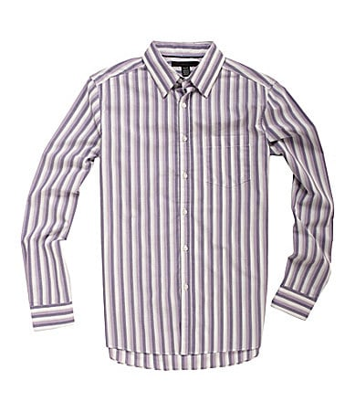 Kenneth Cole New York Ombre Striped Sportshirt