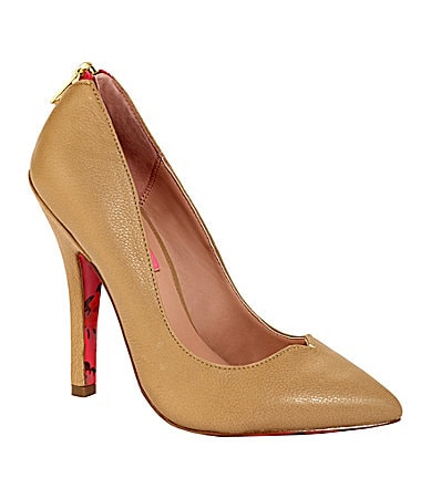 Betsey Johnson Taylor Pointed-Toe Pumps