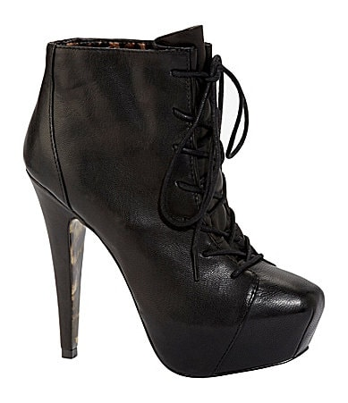 Betsey Johnson Tipps Platform Booties