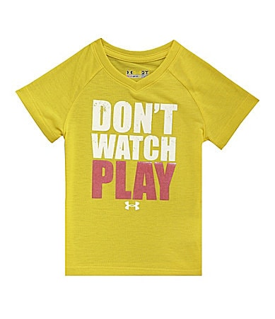 Under Armour 2T-6X Don�t Watch Play Tee