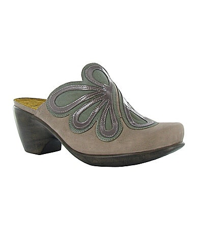 Naot Adore Mixed-Media Clogs