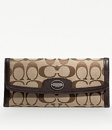 COACH LEGACY SIGNATURE SOFT WALLET