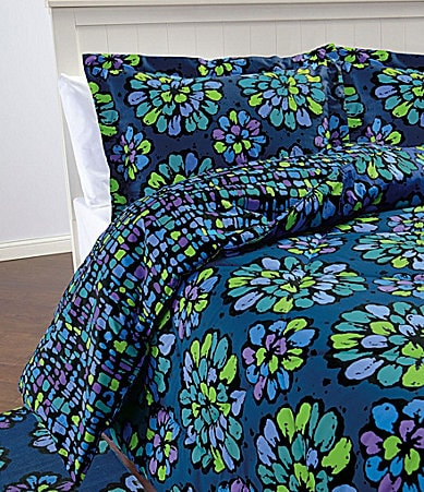 Vera Bradley Indigo Pop Bedding Collection