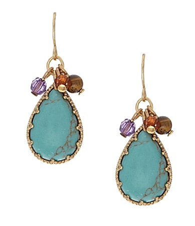 Lauren Ralph Lauren Color Bazaar Cluster Drop Earrings