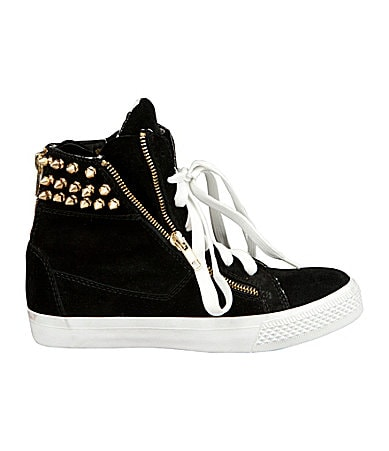 Betsey Johnson Nxtlvl Suede Sneakers