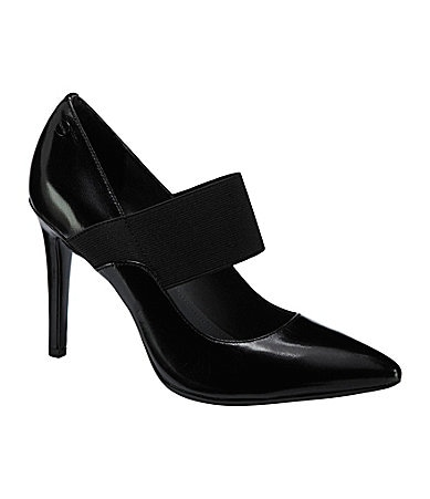 Calvin Klein Nessah Leather Pumps