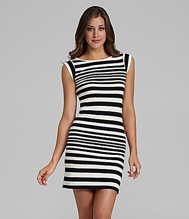 French Connection Marissa Stripe Dress