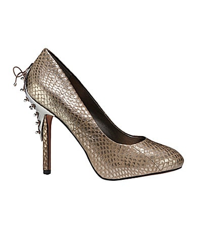Sam Edelman Evan Snake-Print Pumps