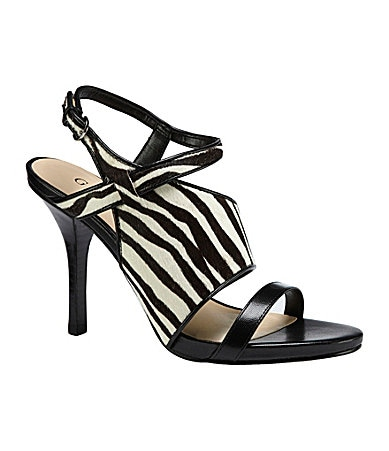 Guess Avianoly Zebra-Print Sandals