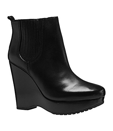 BCBGeneration Vance Wedge Booties