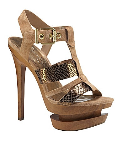 Jessica Simpson Cathi T-Strap Sandals